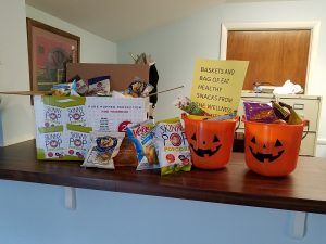 Medford Township's Wellness Committee Celebrates a Healthy Halloween