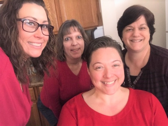 National Wear Red Day in Florence Township