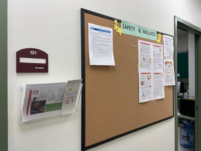 Delanco Wellness board